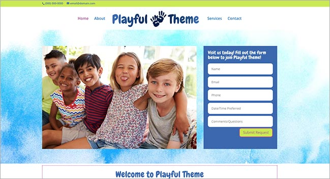 Playful Theme