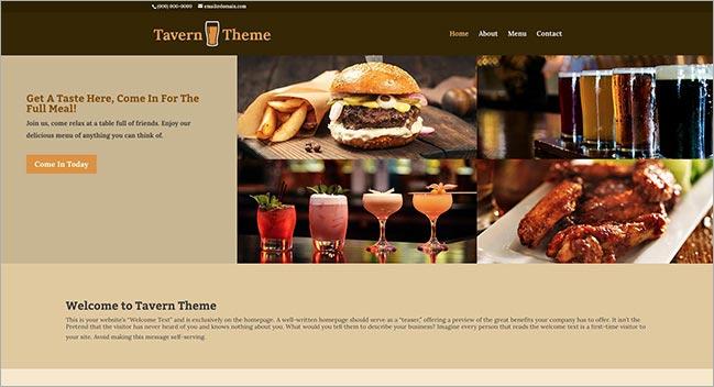 Tavern Theme